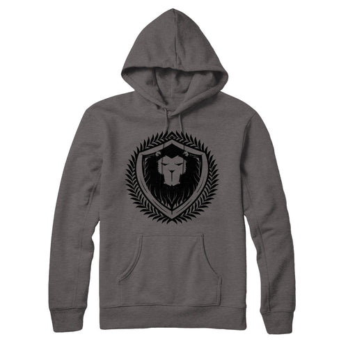 Grey Merciless Athletics Premium Logo pull over hoodie