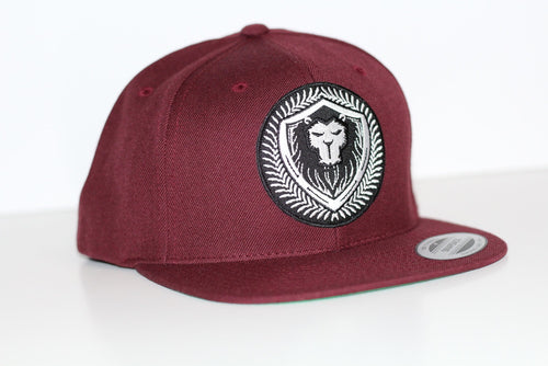 Merciless Athletics Maroon Snapback