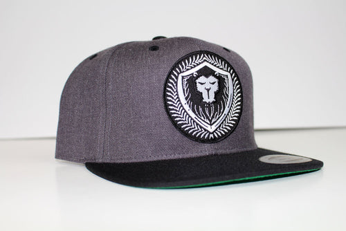 Limit Edition Charcoal\Black Merciless Athletics Snapback