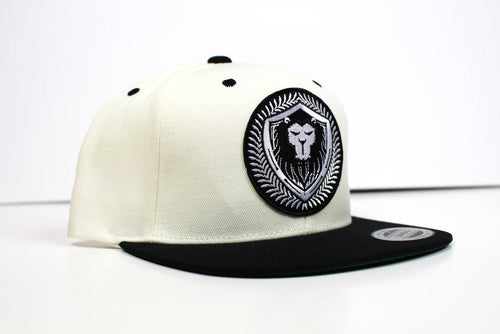 Limit Edition White\Black Merciless Athletics Snapback