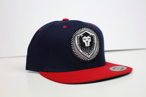 Limited Edition Navy/Red Merciless Athletics Snapback