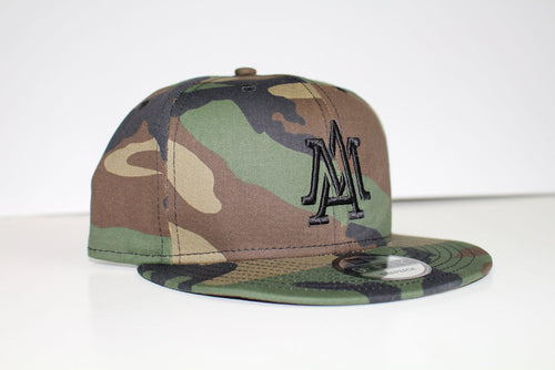 The Merciless Athletics Premium Lifestyle Logo Snapback in Camo