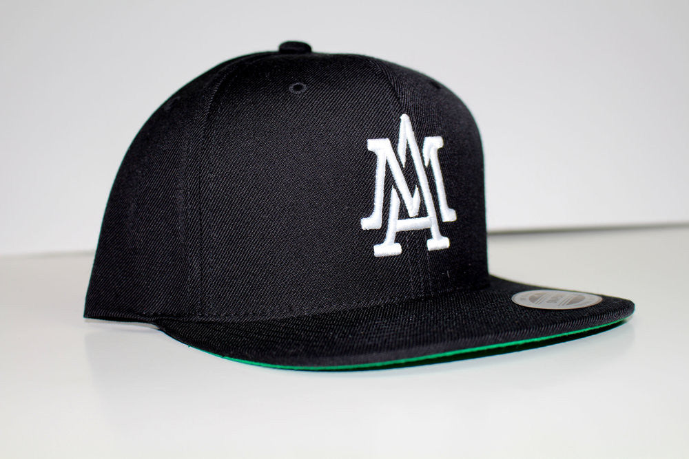 The Merciless Athletics Lifestyle Logo Snapback in Black