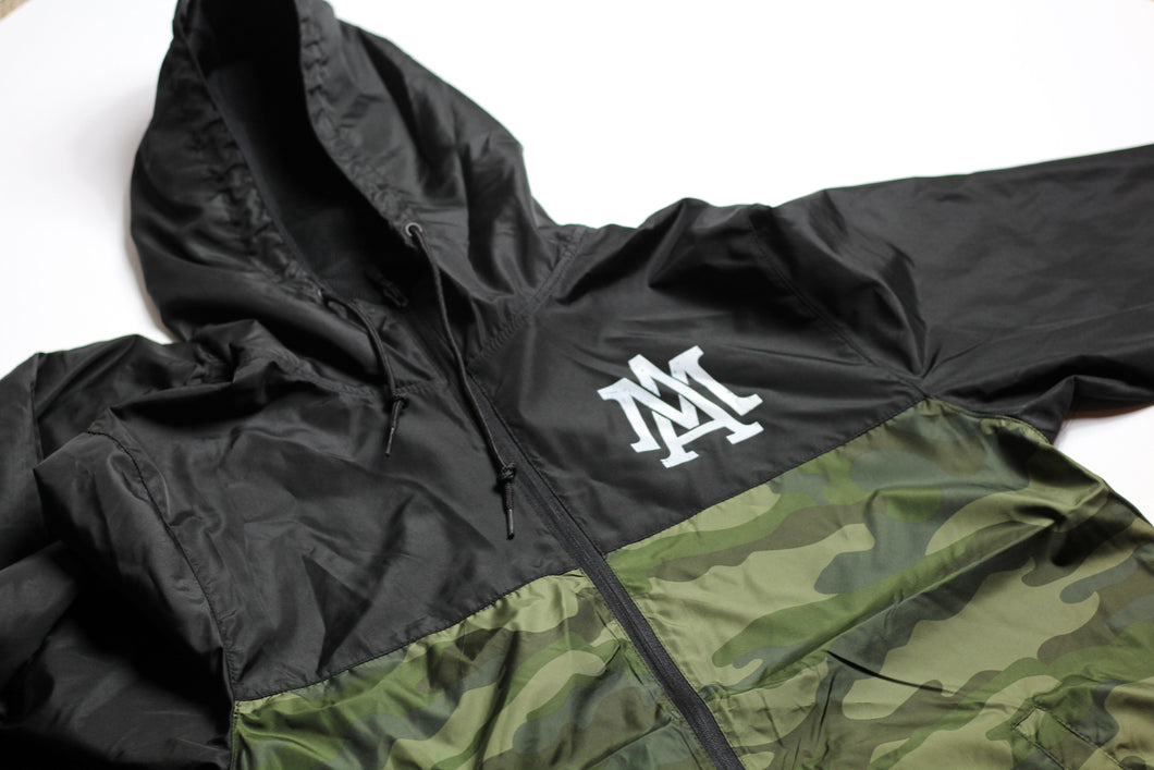 Merciless Athletics Black/Camo Windbreaker