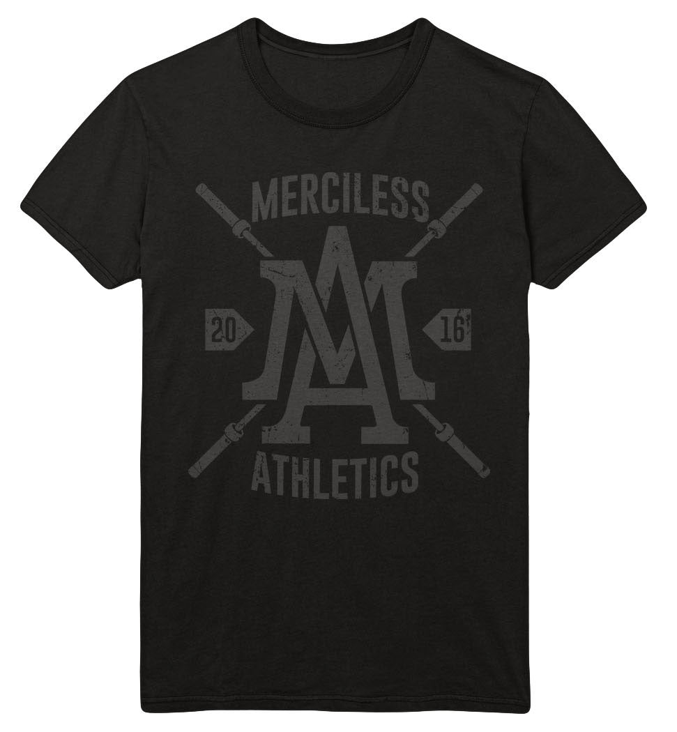 Black Friday Exclusive Merciless Athletics Barbell Tee