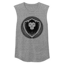 Merciless Athletics Womens Black on Black Muscle Tee
