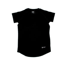 The Merciless Athletics Black Lifestyle Scoop Bottom tee