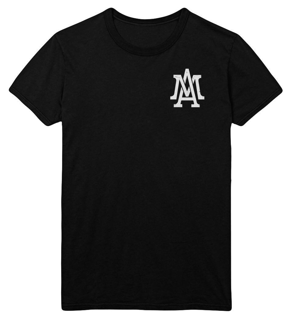 The Lifestyle logo pocket tee - Black