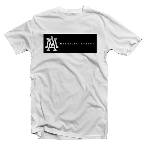 Merciless Athletics Premium White Lifestyle tee