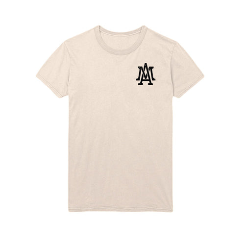 The Lifestyle logo pocket tee - Sand