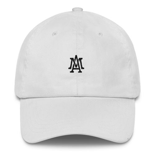 Lifestyle Logo Dad Hat - White