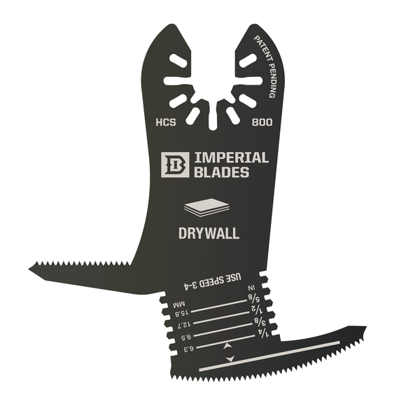 Got Drywall?  This Multi-Tool Blade Cuts Like a Hot Knife Through Butter