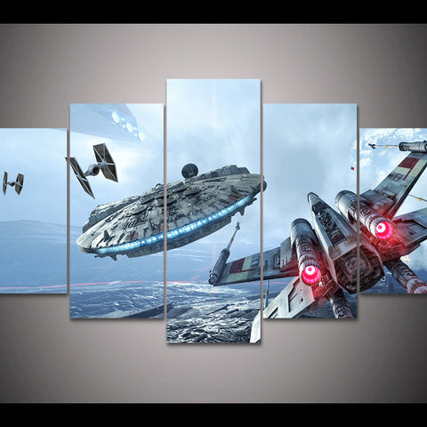 Star Wars X-Wing Wall Art