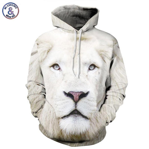 Animal Print Hoodie/Sweatshirt - findrly