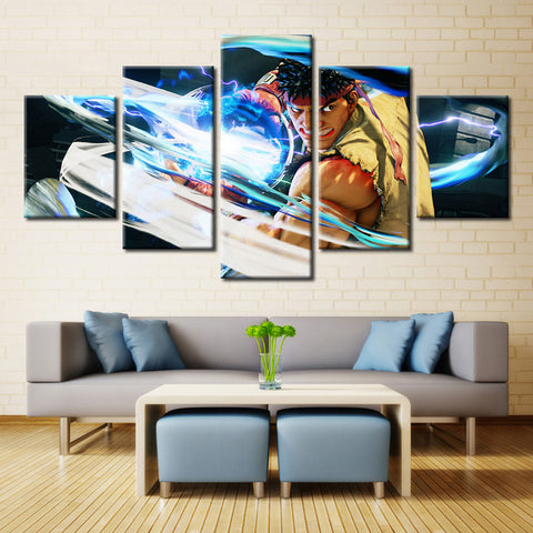 Street Fighter V Modern Home Wall Art - findrly