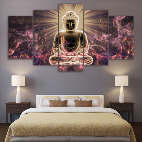 Abstract Buddhism Wall Art