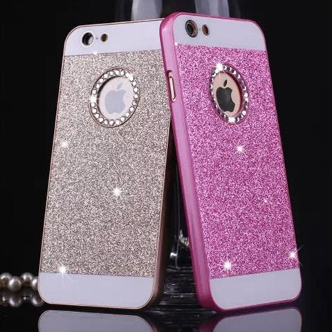 Luxury Acrylic Pink Iphone 5S Case