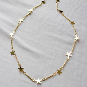 Star Layering Necklace