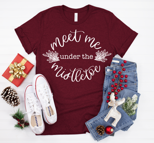 Meet Me Under The Mistletoe {Pretty Printed Shop Collab}