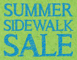 Summer Sidewalk Sale in Boulder
