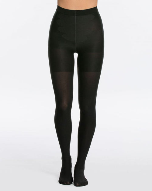 Reversible Tights in Black/Bittersweet