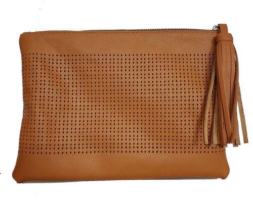 Thompson Pouch in Cognac