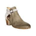 two tone booties womens sale