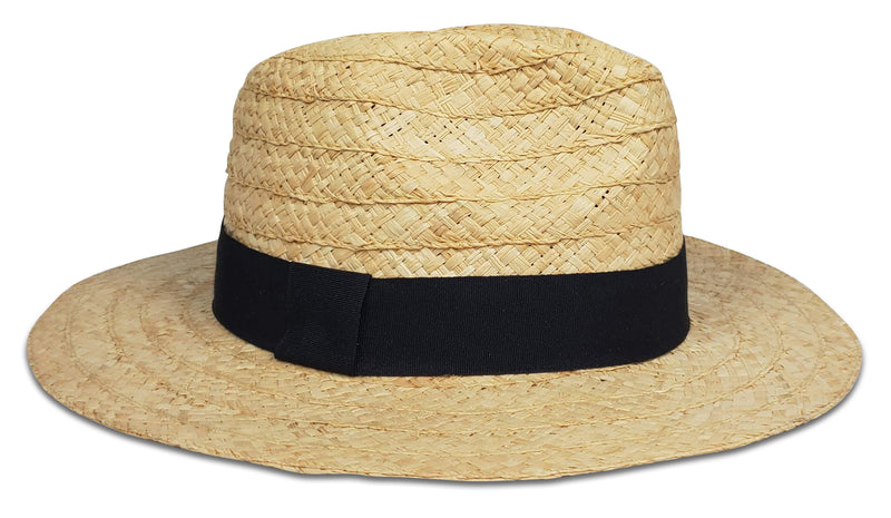 Daily Fedora in Natural/Black
