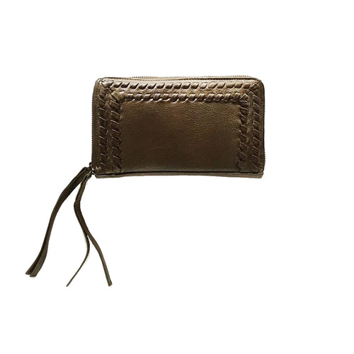 Velda Wallet by Day & Mood in Olive