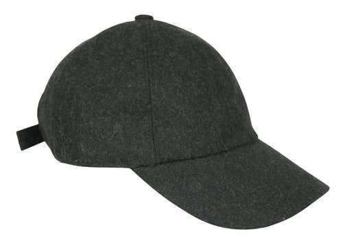 Everyday Fall Cap in Charcoal