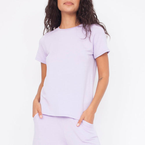 Everyday Tee in Lilac