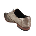LB712001 in Buff Metal metallic spring pointy flats