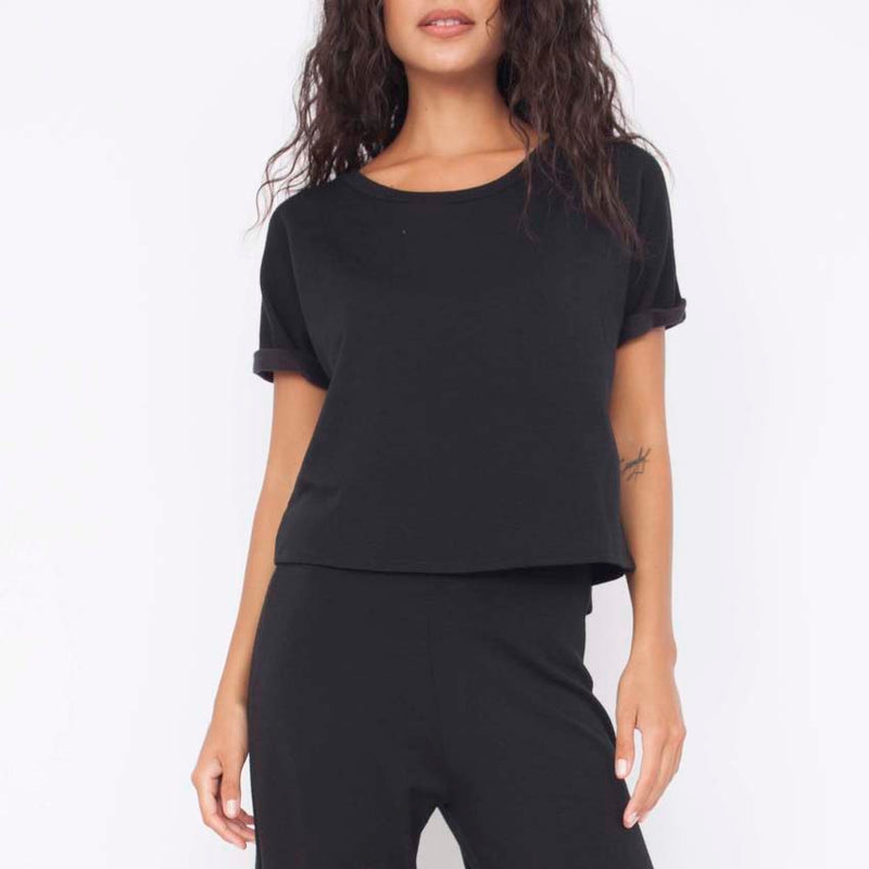 Maddie Top in Black