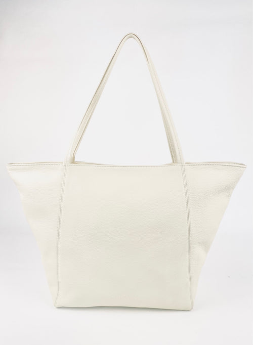 Vienna Tote in Milk