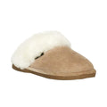 fuzzy shearling womens slipper scuff online sale gift ideas