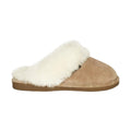 chestnut tan scuff slippers womens old friend