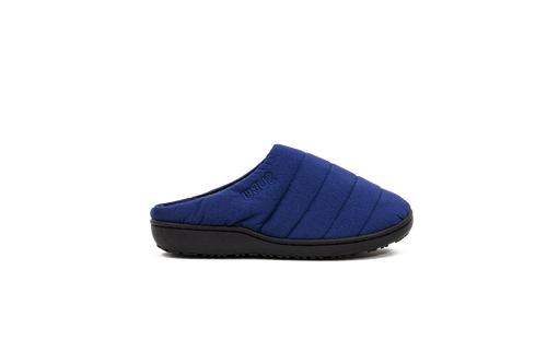 Slipper in Undulate Blue
