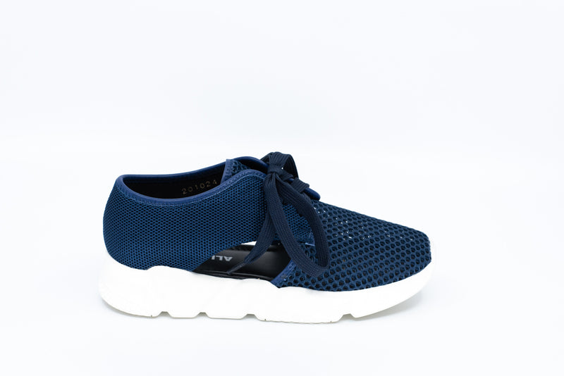 Cutout Mesh 3 in Navy