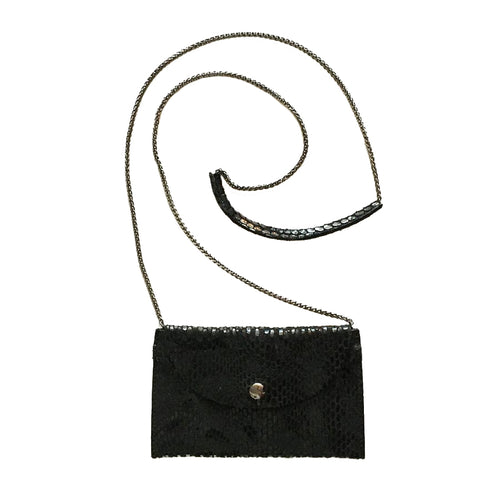 Rubina Micro Crossbody by Sorial in Black