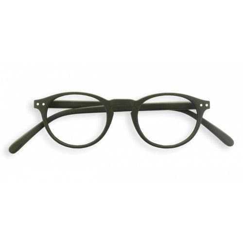 #A Shape Readers in Khaki Green