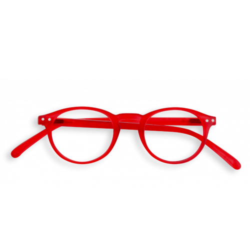 #A Shape Readers in Red