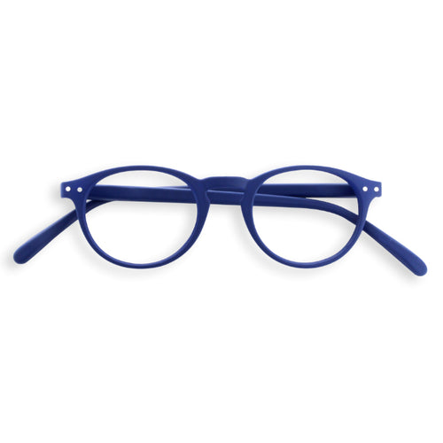 #A Shape Readers in Navy Blue
