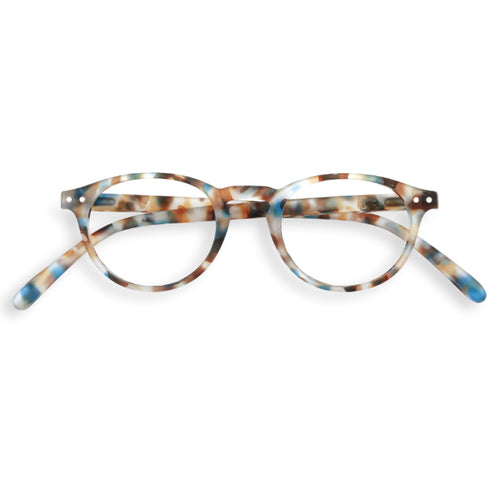 #A Shape Readers in Blue Tortoise