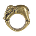 brass elephant ring