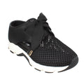 black white mesh sneaker womens