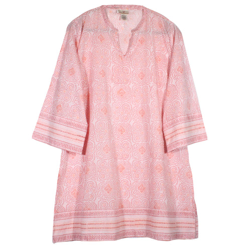 straight tunic cotton anokhi