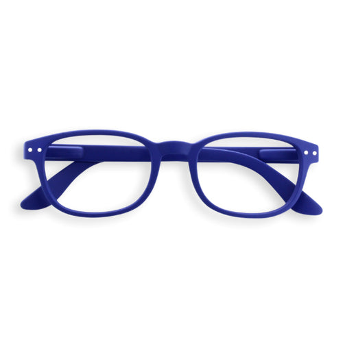 #B Shape Readers in Navy Blue