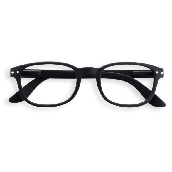 #B Shape Readers in Black