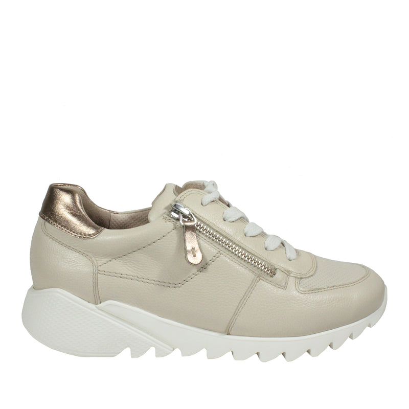 Stasia in Light Tan sneakers