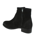 booties womens winter black